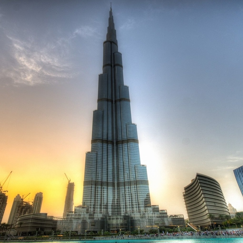 Amazing Burj Khalifa of Dubai